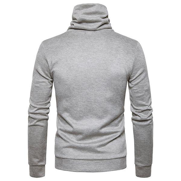 Stylish Collar Design Casual Sweater for Men