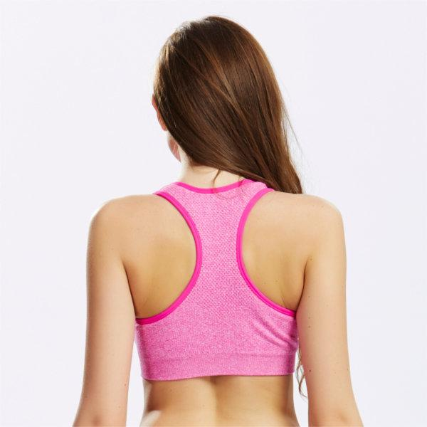 Women Sexy Wireless Quick Dry Sports Bras Shockproof Elastic Breathable Vest Bras