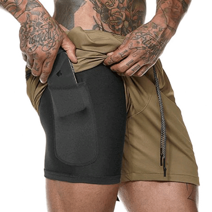 Quick-Drying Breathable Running Shorts