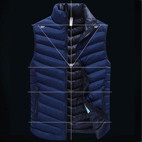 Stylish Outdoor Solid Color Warm Vests