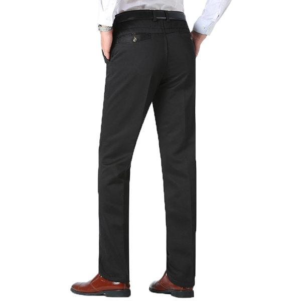 Thicken Thermal Loose Easy-care Suit Pants