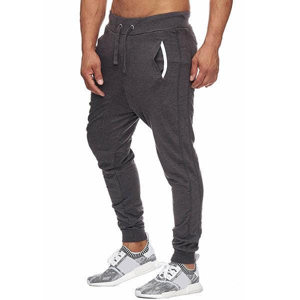 CN Bottoms Black / M Slim Fit Drawstring Casual Running Pants