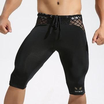 Mens Body Building Shorts Legging