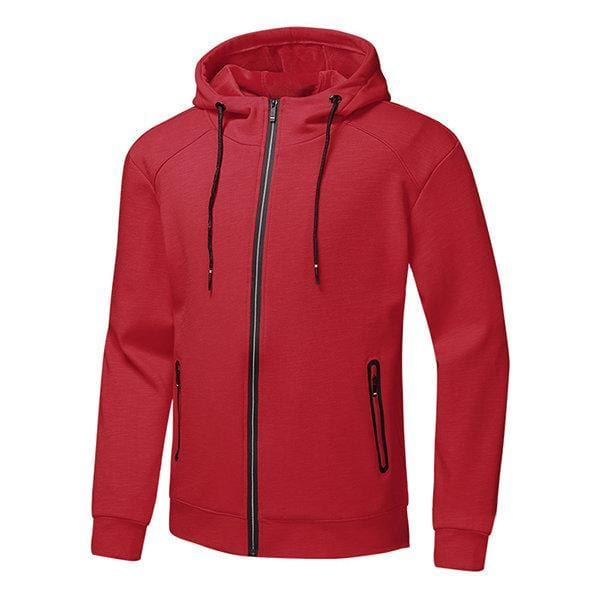 CN Bottoms Red / L Mens Hooded Sport Suit