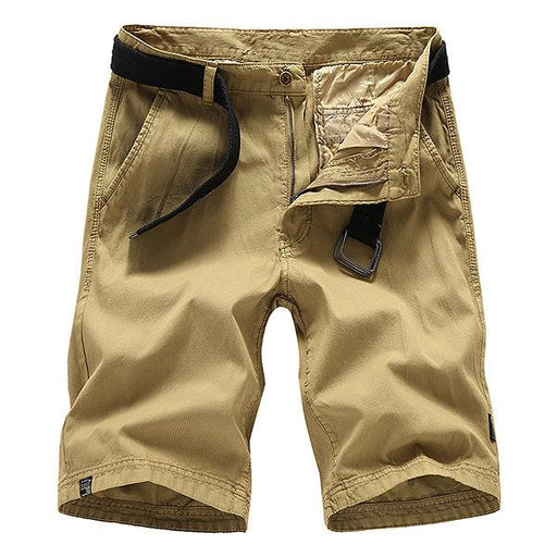 Summer Length Casual Cargo Shorts