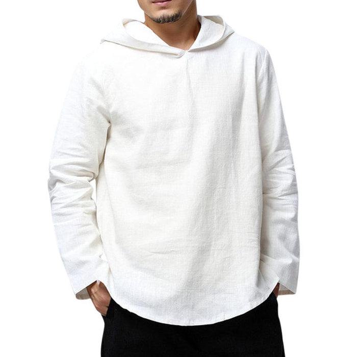Vintage Loose Casual Hooded T Shirts