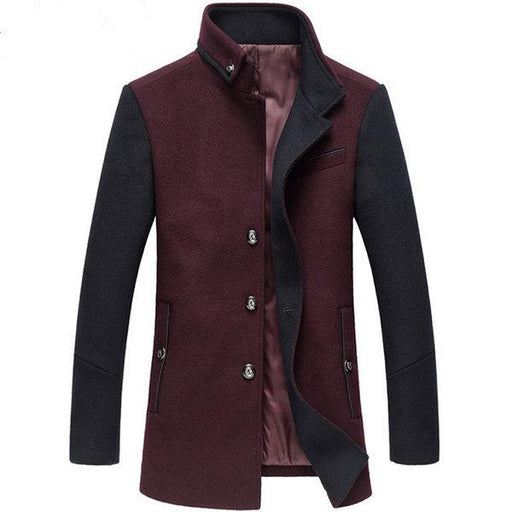 Thicken Woolen Jacket Coats