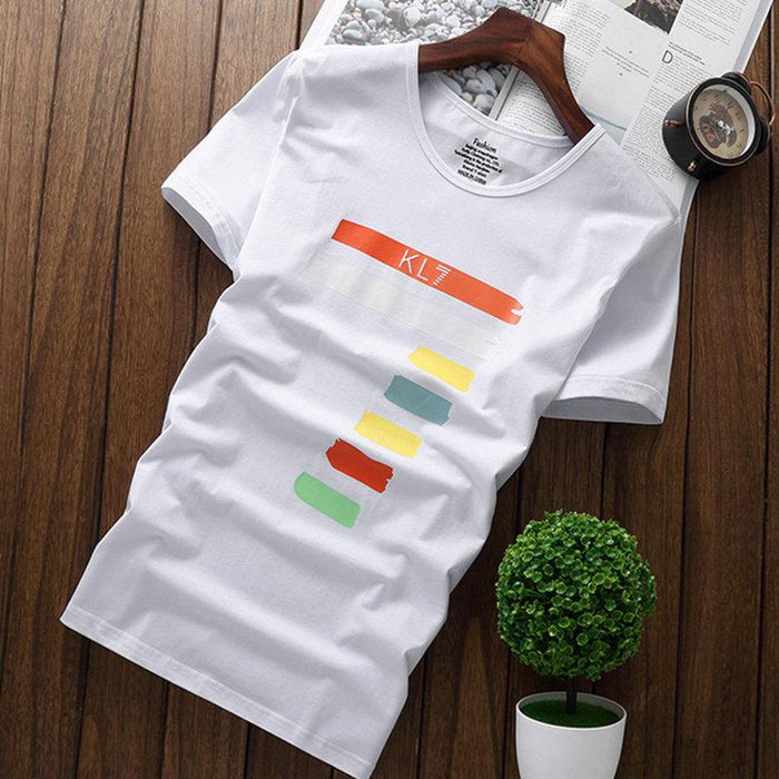 Stylish Printing Casual Cotton Brethable T Shirts