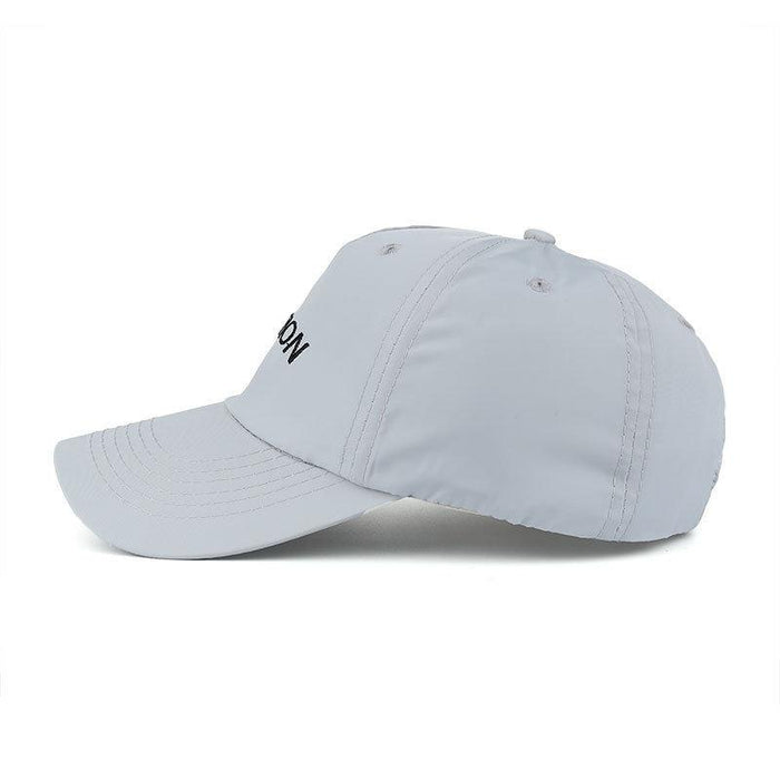 Women Mens Summer Waterproof Breathable Baseball Hat Outdoor Sunscreen Snapback Caps