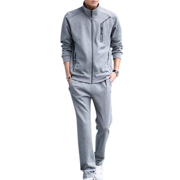 Spring Fall Casual Jogger Sport Suit