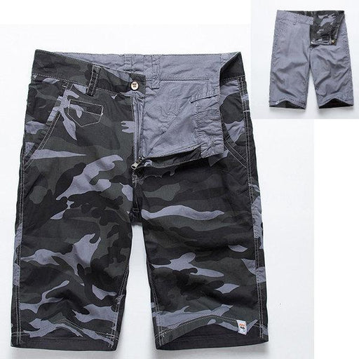 Double-sided Wear Casual Cargo Shorts