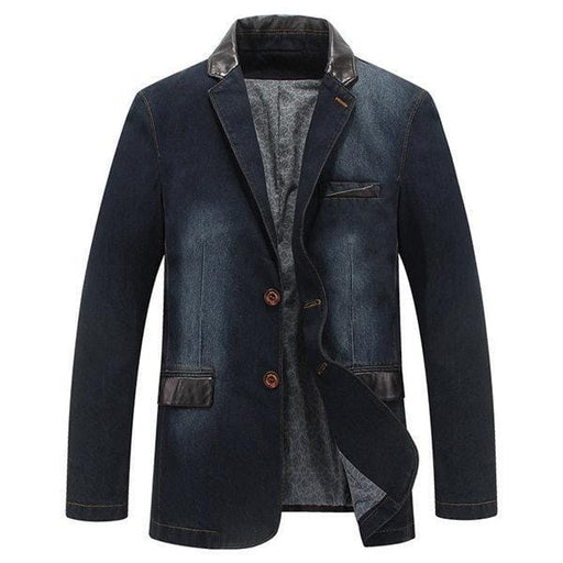 CN Jacket Dark Blue / L Outdoor Stylish Denim Jackets Blazers