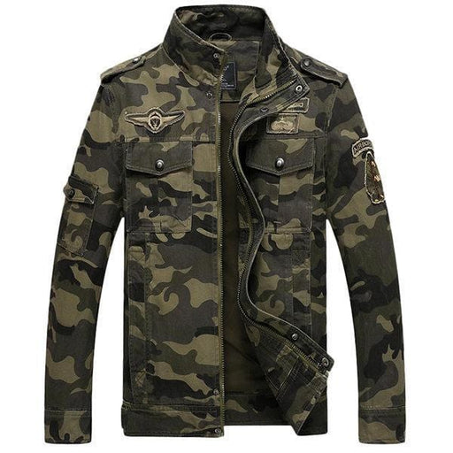 CN Jacket Khaki / L Mens Military Camo Jackets