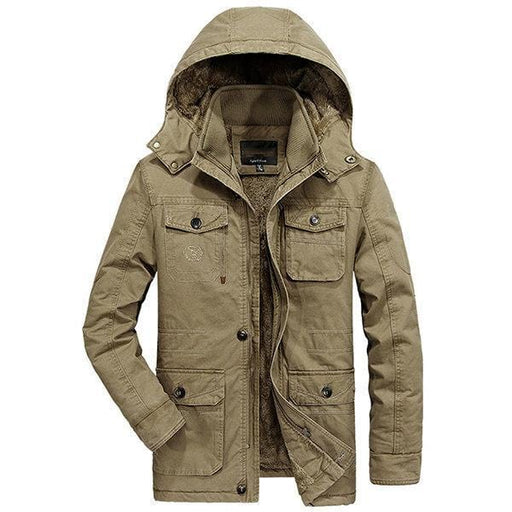 CN Jacket Khaki / M Plus Size Winter Jackets