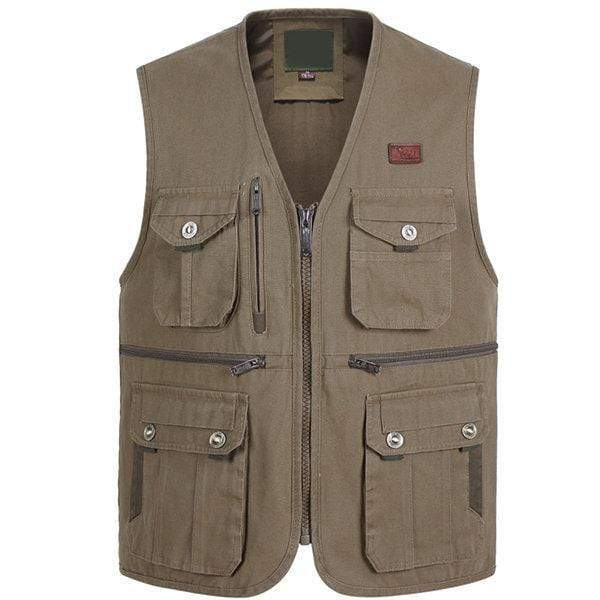 Men Fishing Photography Vest