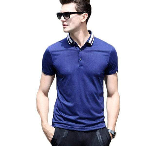 Men's Breathable Business Casual Golf Shirt