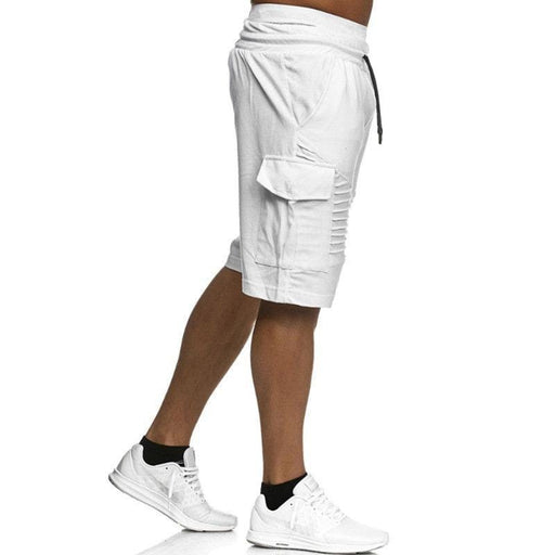 Men's Knee Length Drawstring Jogger Shorts
