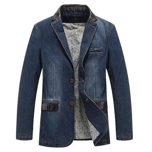 Men's Outdoor Stylish Denim Jackets Blazers
