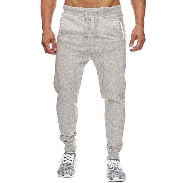 Men's Slim Fit Drawstring Casual Running Joggers