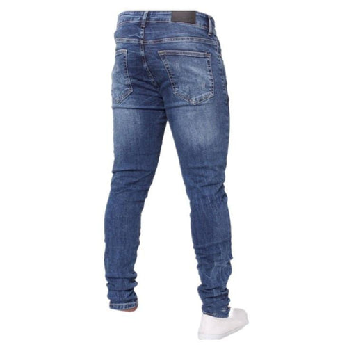 Men's Slim-Fit Ripped Jeans Pants