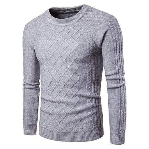 Mens Jacquard Knitted Sweaters