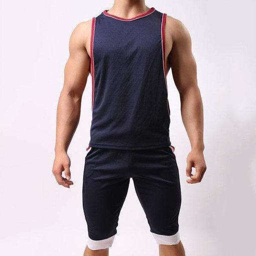 Mens Sexy Sleeveless  Loose Fit Vest Sport Tank Tops