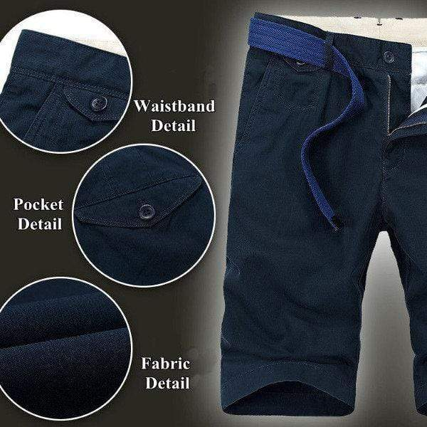 Mens Summer Casual Cotton Shorts