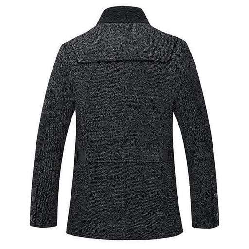Mens Woolen Trench Coats
