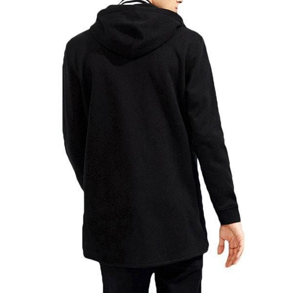 Mid-Long Fleece Hoodies Coat