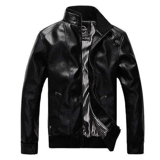 Motorcycle Pu Leather Fashion Jacket