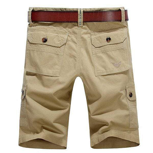 Multi-Pocket Casual Cotton Cargo Shorts