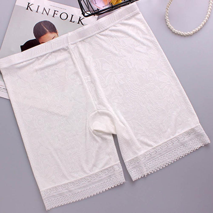 Plus Size Ice Silk Boyshorts