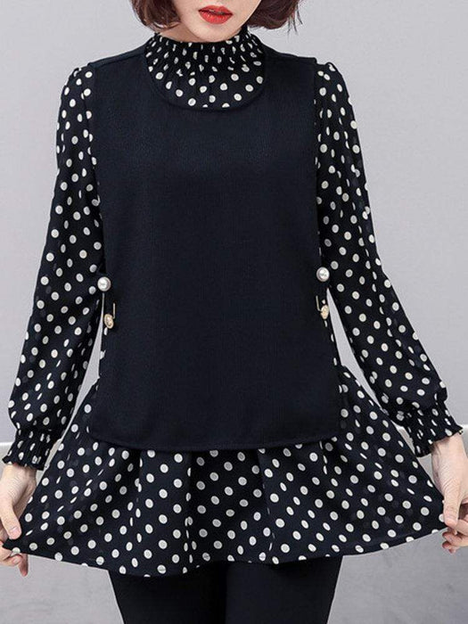 Polka Dot Two-Piece Outfits