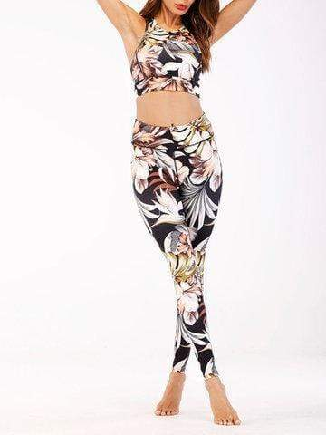 Printed Running Vest Trousers