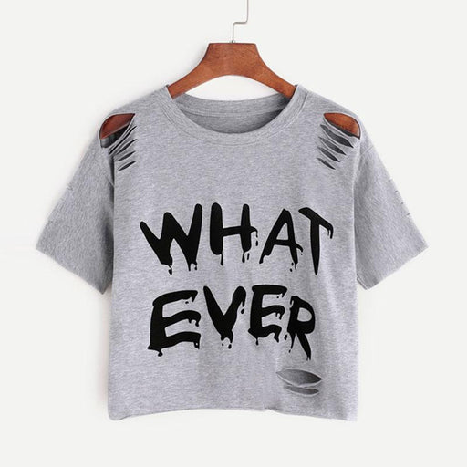 Whatever Casual Women T-Shirt-T-Shirt-RealBigBuy