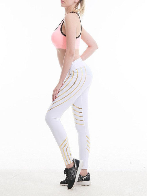 Reflective Stripes Leggings