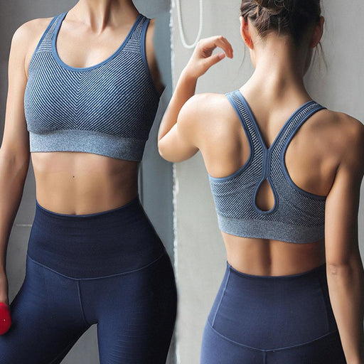 Running Tank Shockproof Sports Bra