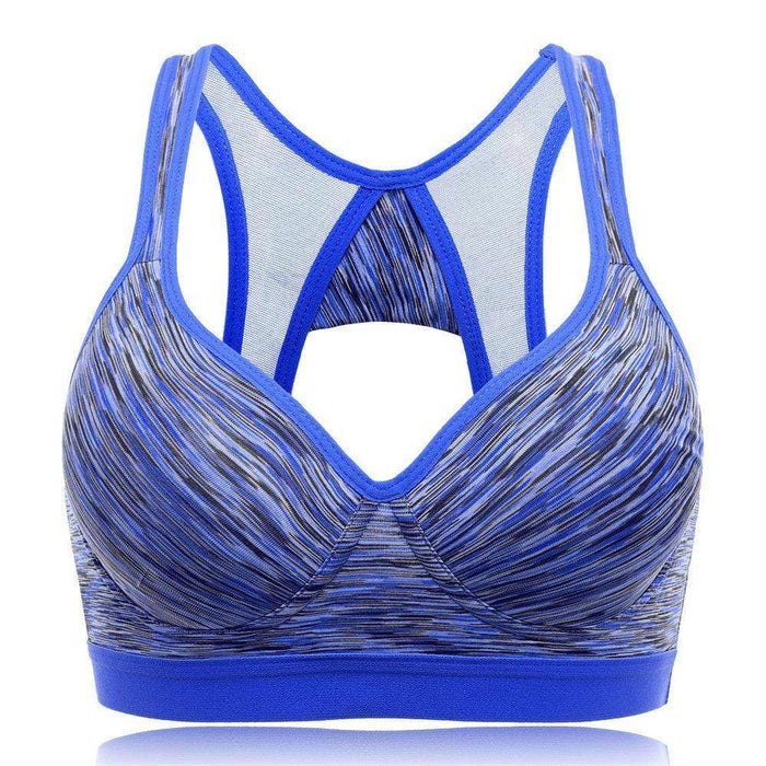 Shockproof Deep Plunge Breathable Sports Bras
