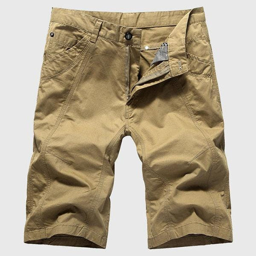 CN Shorts Beige / 30 Plus Size Breathable Casual Shorts