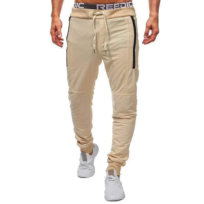 Skinny Drawstring Casual Trousers