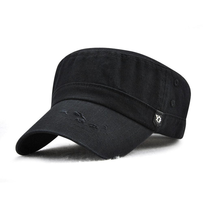 Solid Color Flat Cap