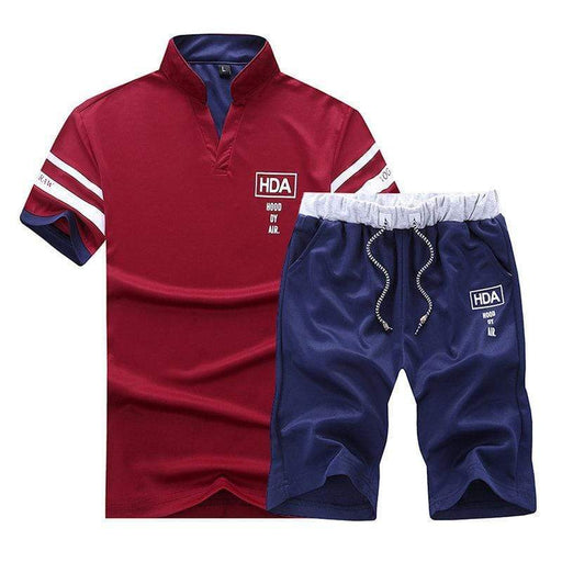 Sport Sets Absorbent Breathable Casual Suits T Shirt