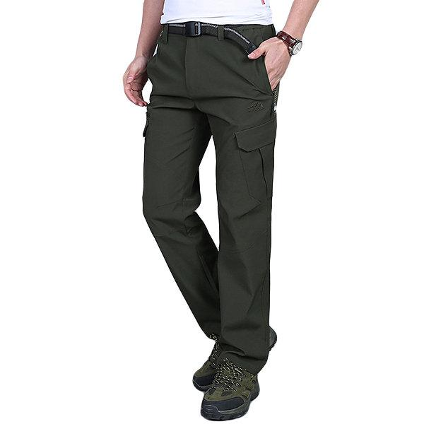 Spring Quick Dry Soft Shell Outdoor Pants