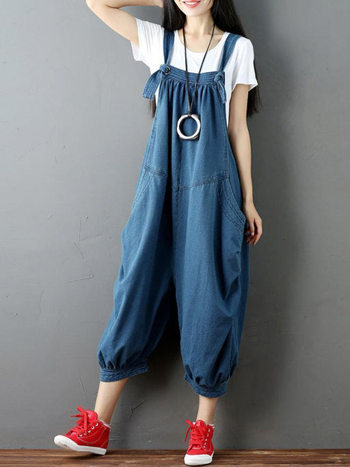 Strap Pocket Jumpsuit