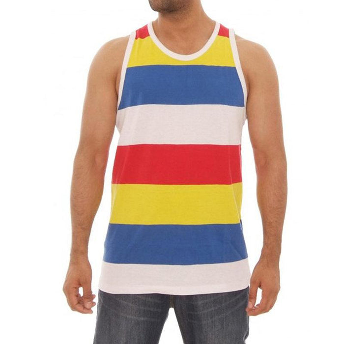 Striped Sleeveless Cotton Breathable Casual Tops