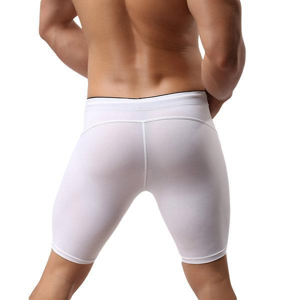 CN Swimwear White / S Men Quick Dry Swim Buttom