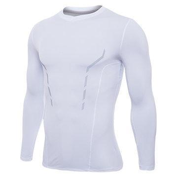 CN Tops White / L PRO Quick-drying Skinny Sport T-shirt