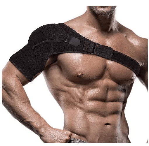 Unisex Shoulder Support Brace Strap Orthosis For Subluxation