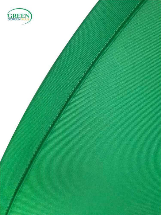 V-Shape Collapsible Green Screen Backdrop Background For Chair By GreenScreenPlus