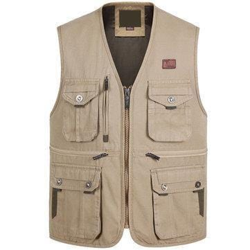 CN Vests Army Green / XL Men Fishing Photography Vest